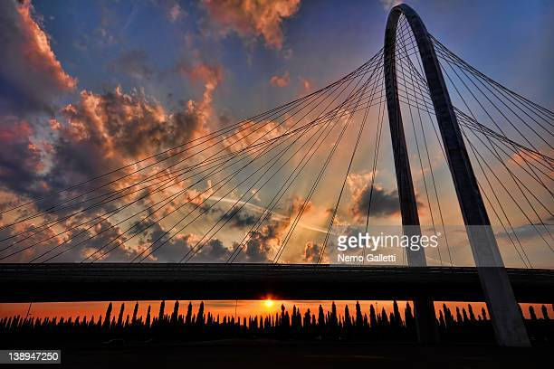 north bridge - reggio emilia stock pictures, royalty-free photos & images