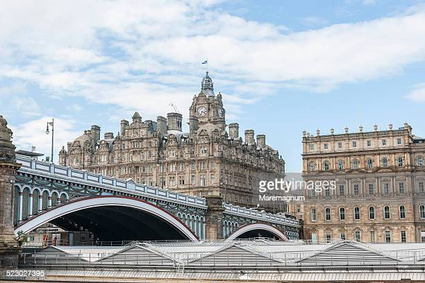 north bridge - balmoral hotel stock pictures, royalty-free photos & images