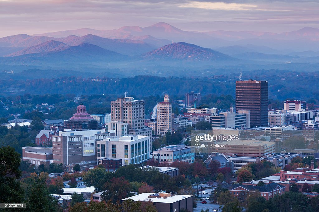 USA, North Carolina, Asheville : Stock Photo