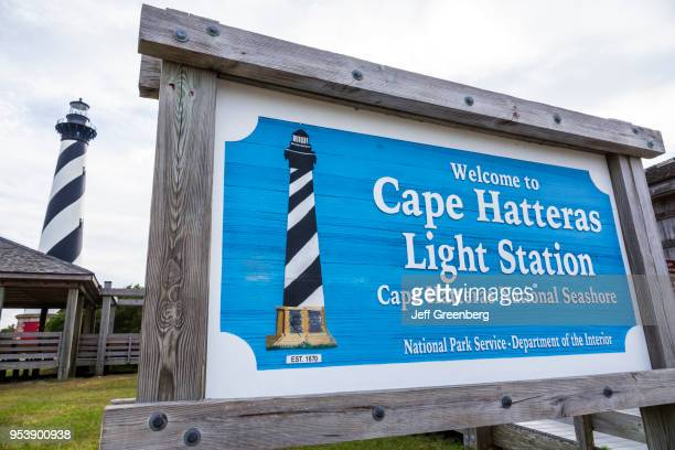 North Carolina Cape Hatteras Light Station and lighthouse