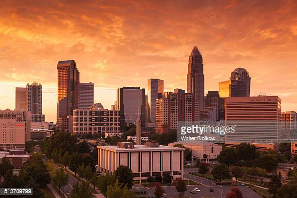usa, north carolina, charlotte - charlotte north carolina stock pictures, royalty-free photos & images