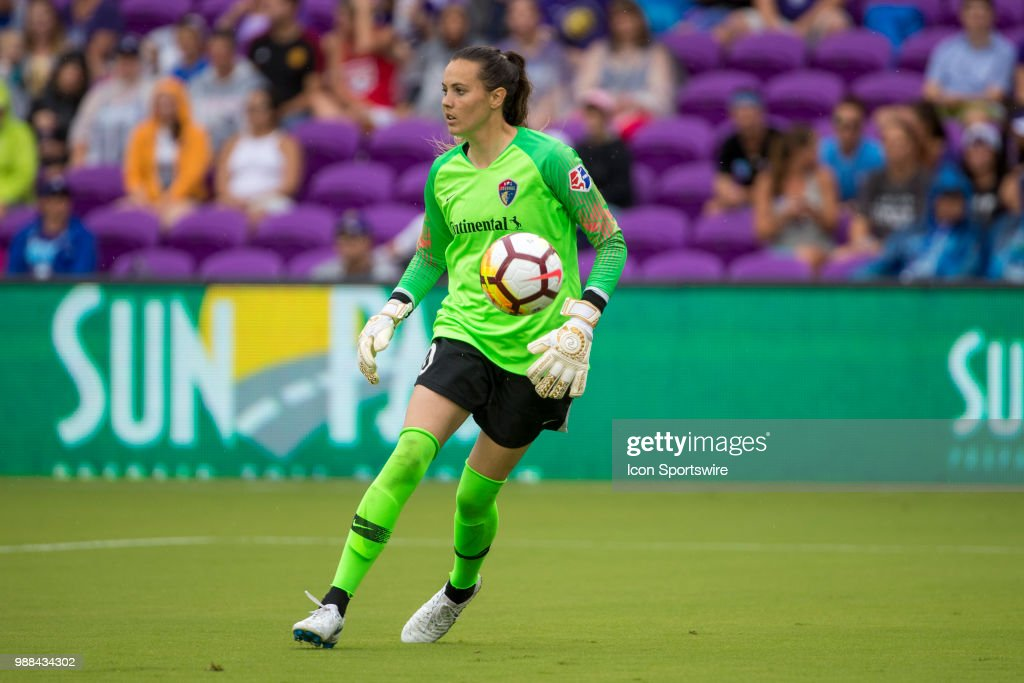 SOCCER: JUN 30 NWSL - NC Courage at Orlando Pride : News Photo