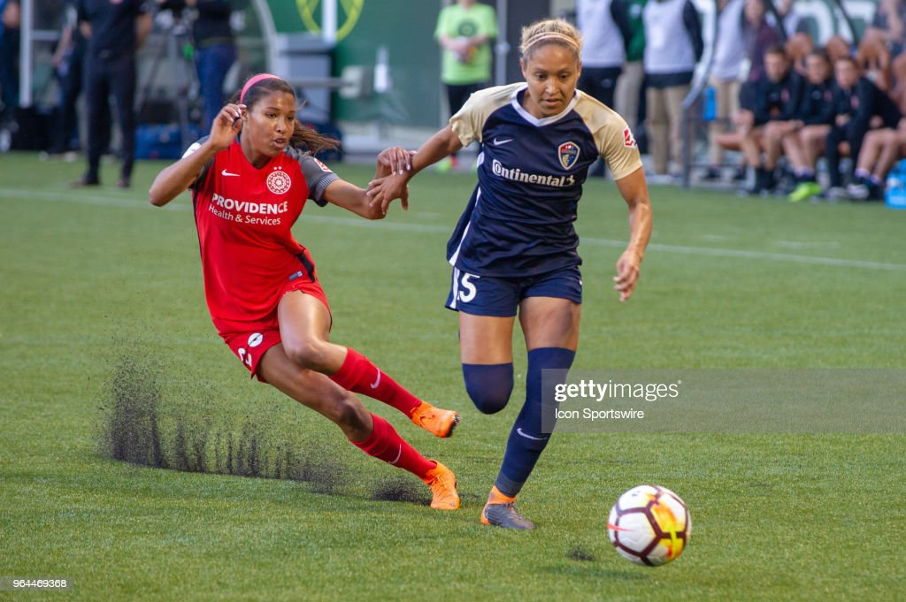SOCCER: MAY 30 NWSL - NC Courage at Portland Thorns : News Photo