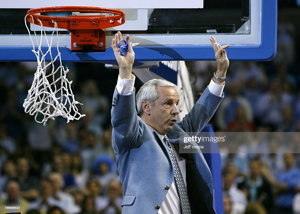 NCAA Men's Basketball - 2007 ACC Tournament - Championship Game - North Carolina State vs North Carolina : News Photo