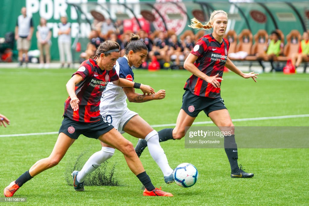 SOCCER: AUG 11 NWSL - NC Courage at Portland Thorns FC : News Photo