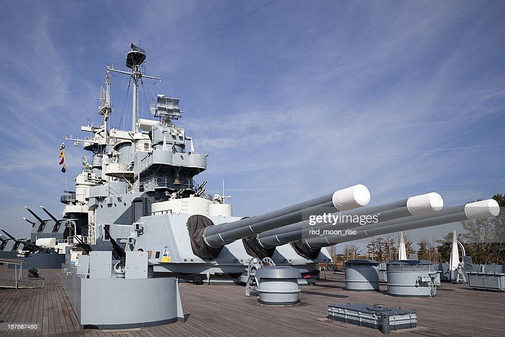 USS North Carolina : Stock Photo
