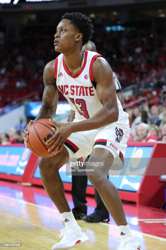 North Carolina State Wolfpack guard C J  Bryce during the