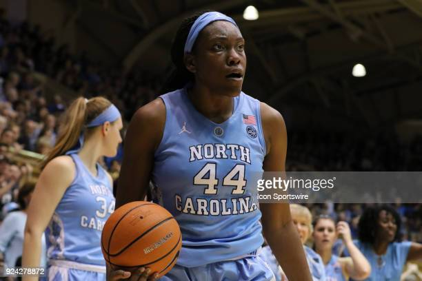 North Carolina Tar Heels center Janelle Bailey during the 1st half of the Women's Duke Blue Devils game versus the Women's North Carolina Tar Heels...