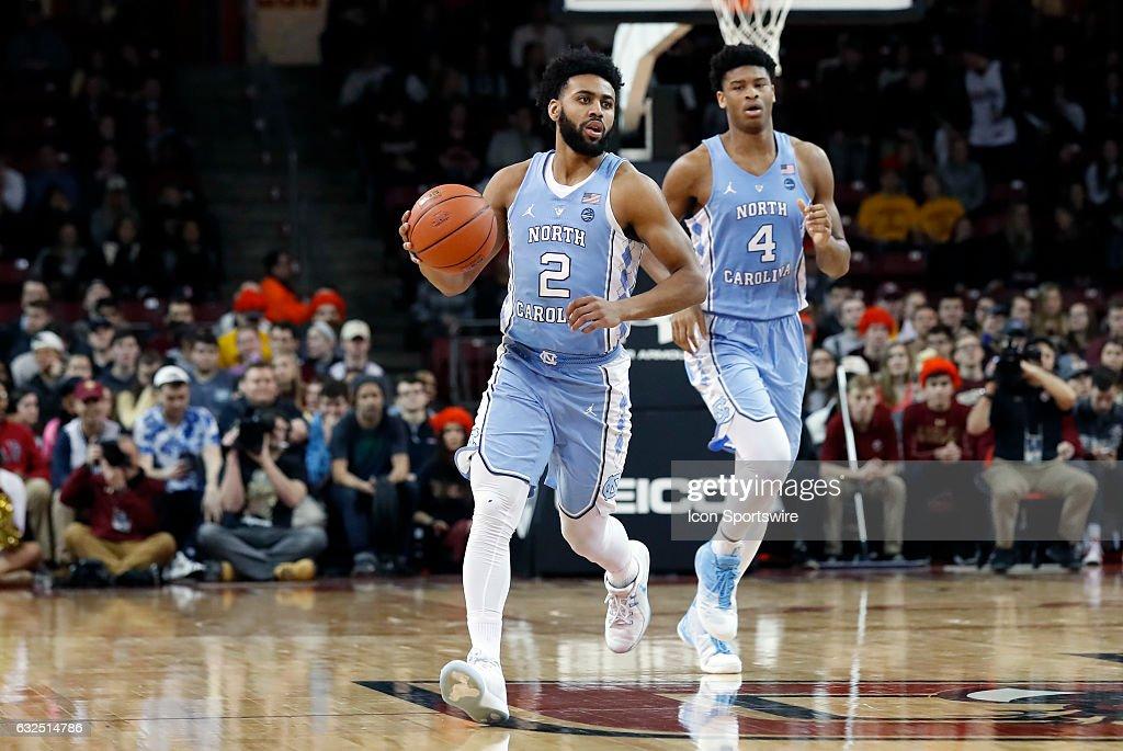 NCAA BASKETBALL: JAN 21 North Carolina at Boston College : News Photo