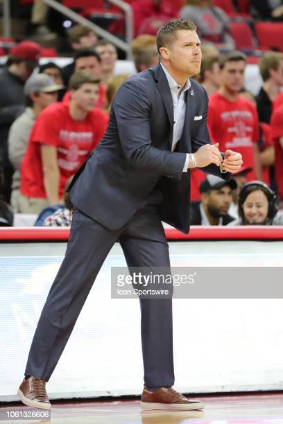 North CarolinaAsheville Bulldogs head coach Mike Morrell during the 1st half of the NC State Wolfpack game versus the UNC Asheville Bulldogs on...