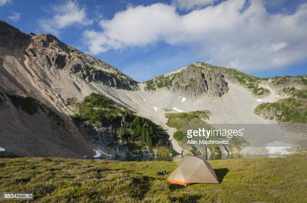 North Cascades backcountry camp