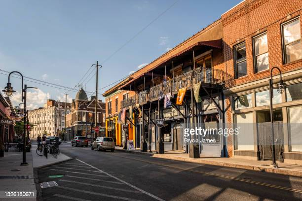 north central street in the old city - brycia james stock pictures, royalty-free photos & images