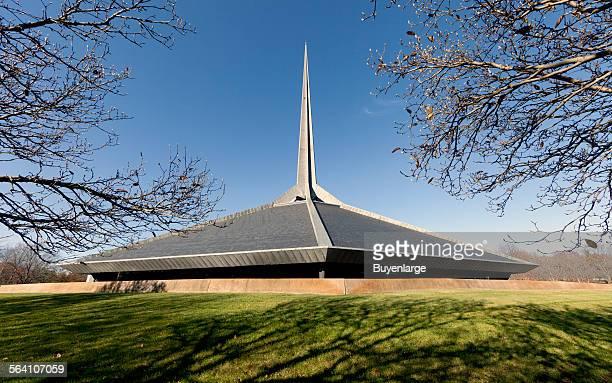North Christian Church designed by Eero Saarinen Columbus Indiana
