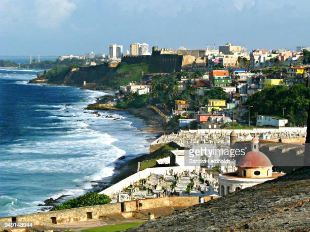 north coast of san juan, puerto rico - usa - puerto rico stock pictures, royalty-free photos & images