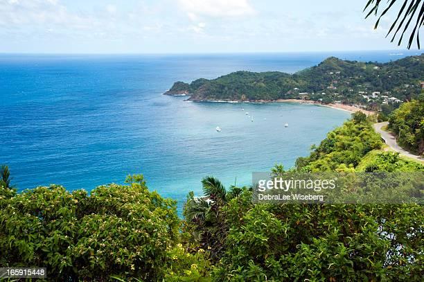 north coast tobago - trinidad and tobago stock pictures, royalty-free photos & images