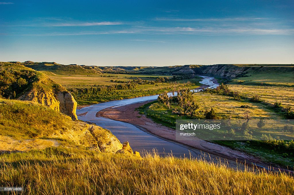 North Dakota Badlands : Stock Photo