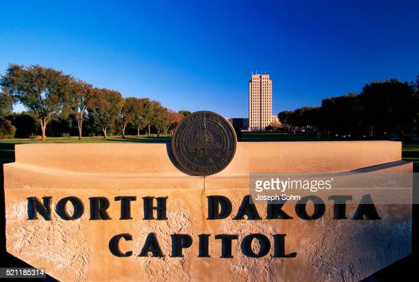 North Dakota Capital Sign