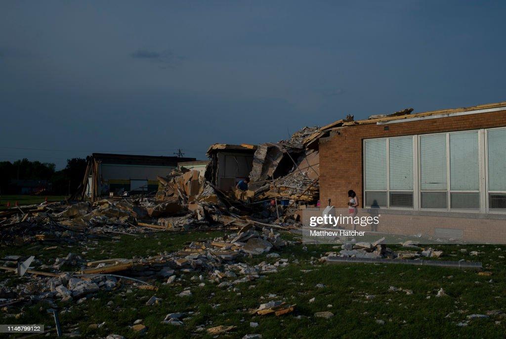 Multiple Tornadoes  Cause Widespread Damage Around Dayton, Ohio : Foto di attualità