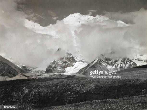 North east ridge of Mount Everest. By George Leigh Mallory. Mount Everest Expedition 1921.