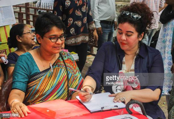 North East Woman's Front initiated a signature campaign demanding the withdrawal of Citizenship Bill 2016 at Guwahati