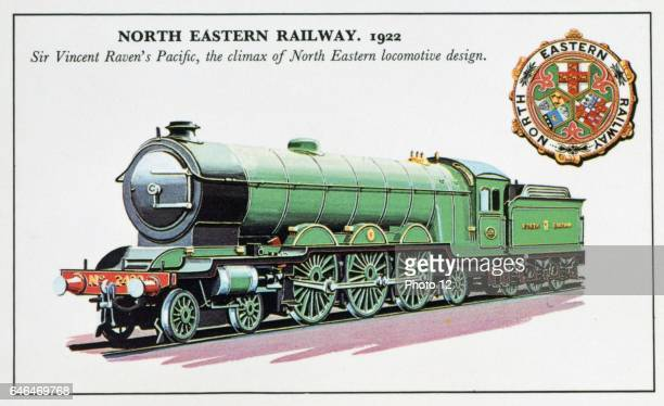 North Easter Railway Pacific class 462 steam locomotive designed for express passenger work by Sir Vincent Raven Photo12/UIG via Getty Images