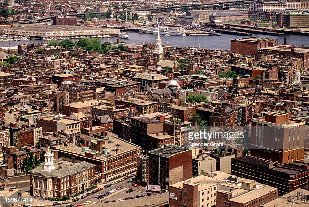 North End and Old North Church Boston Massachusetts 1982