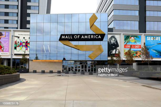 North entrance to Mall Of America in Bloomington Minnesota on October 14 2018