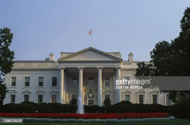 North Facade of the White House by James Hoban Washington DC District of Columbia United States of America 19th century