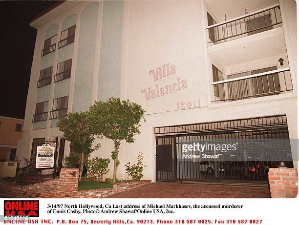 North Hollywood Ca Last Address Of Michael Markhasev The Accussed Murderer Of Ennis Cosby