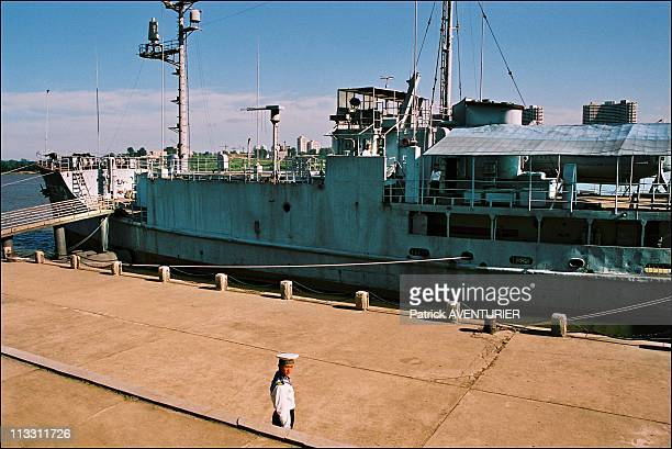 North Korea A Journey Into The Country Of Forbidden Photographs On August 2005 In Pyongyang North Korea Here The Uss Pueblo An American Spy Ship...