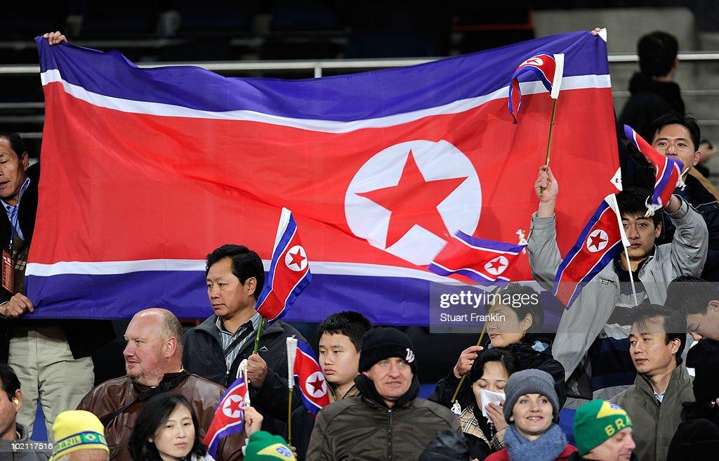 Brazil v North Korea: Group G - 2010 FIFA World Cup : Foto di attualità