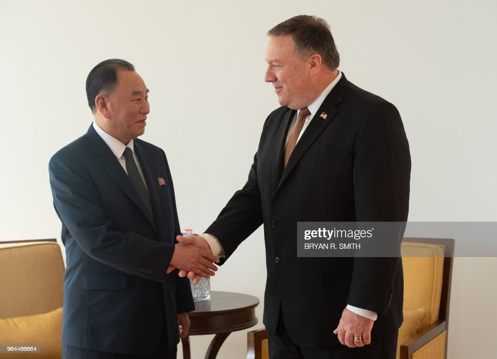 Secretary Of State Pompeo Holds Meetings With North Korean Envoy In New York