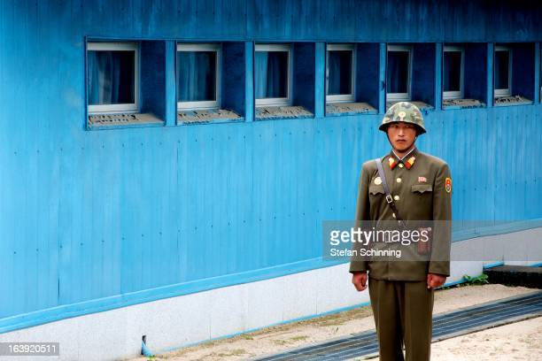 CONTENT] North Korean borderguard at the JSA in Panmunjeom The Joint Security Area is the only portion of the Korean Demilitarized Zone where South...