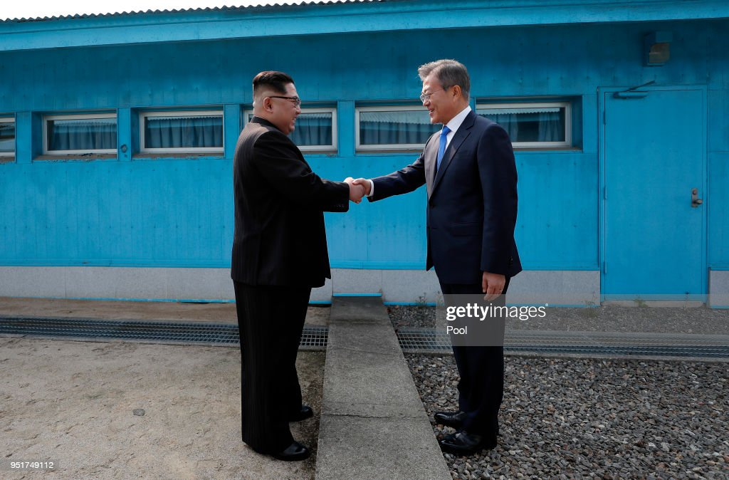 North and South Korea Leaders Meet for Historic Summit