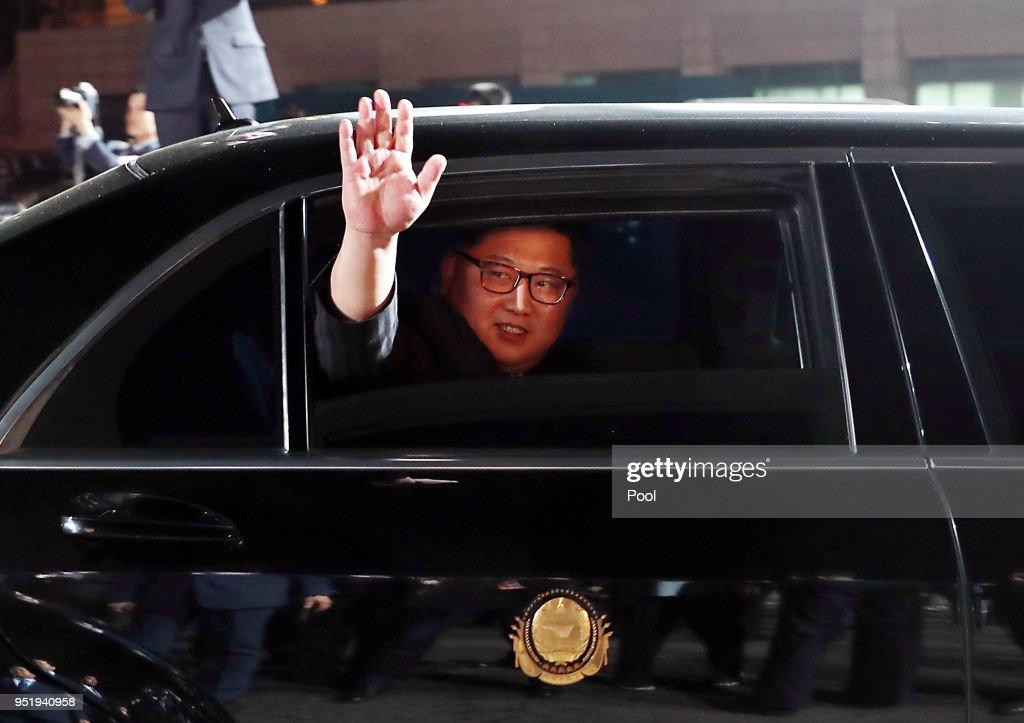 Inter-Korean Summit 2018 : News Photo