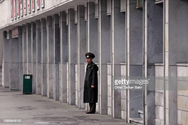 north korean soldat - norden stock-fotos und bilder