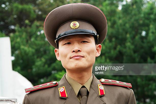 north korean soldier - army stock pictures, royalty-free photos & images