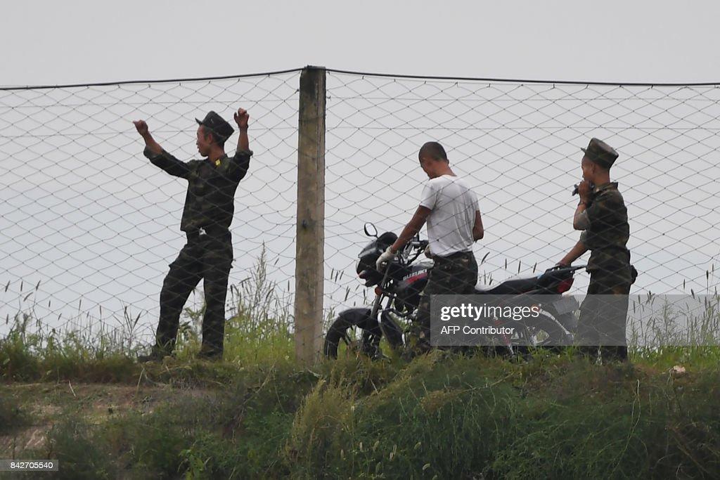 CHINA-NKOREA-NUCLEAR-MISSILE : Fotografía de noticias