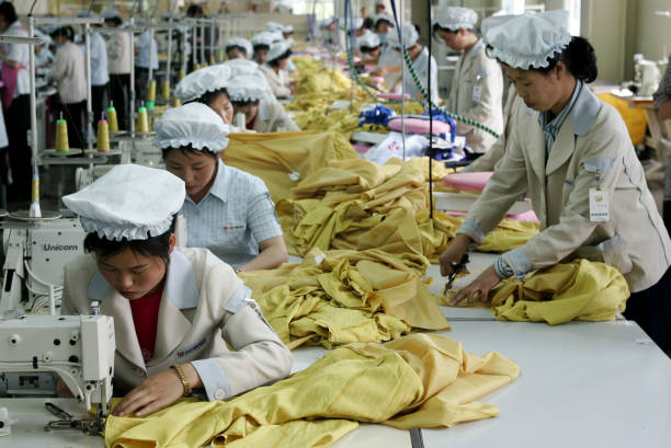 North Korean Workers Join Assembly Line At South Korean ...