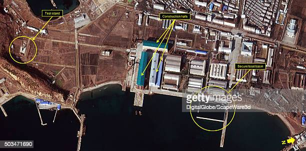North Koreas Ballistic Missile Submarine Program Full Steam Ahead Figure 1 Overview of the Sinpo South Shipyard Image Date December 23 2015