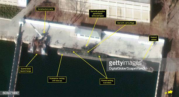 North Koreas Ballistic Missile Submarine Program Full Steam Ahead Figure 2 Closeup of Secure Boat Basin at the Sinpo South Shipyard Image Date...