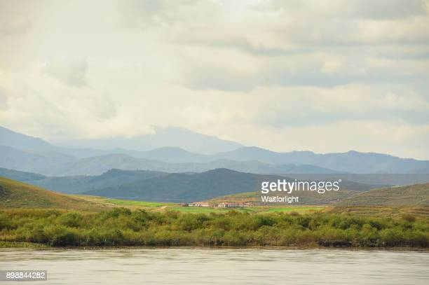 North Korea's border with China