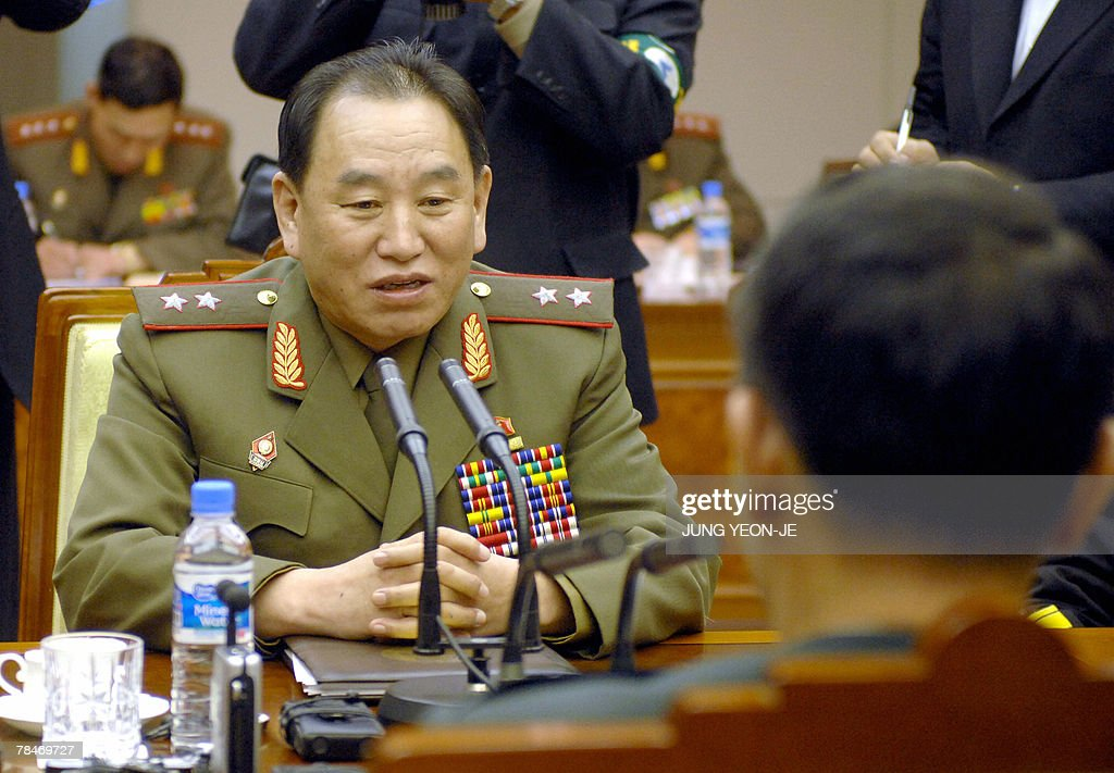 North Korea's chief delegate Kim Yong-Ch : News Photo