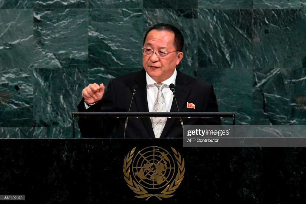 UN-ASSEMBLY-DIPLOMACY : News Photo