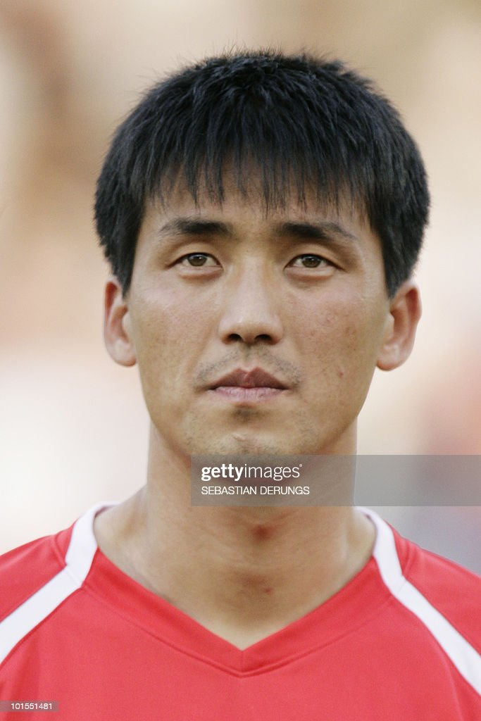 North Korea's Kwang Chon Ri is seen before a friendly football match against Greece in Altach on May 25, 2010 ahead of their participation to the FIFA World Cup 2010 in South Africa.