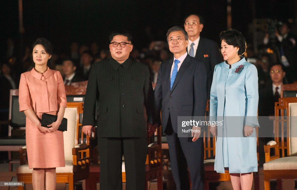 Inter-Korean Summit 2018 : News Photo