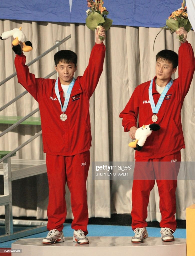ASIAD-DIVING-SYNCHRONIZED-10M-SILVER-PRK : News Photo