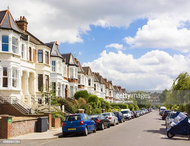 North London residential street - West Hampstead