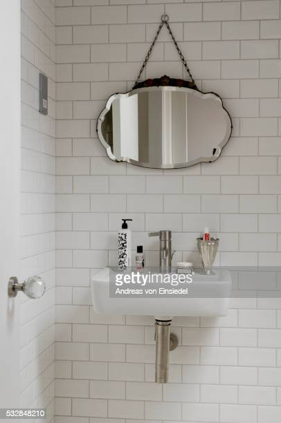 north london victorian conversion - domestic bathroom stock pictures, royalty-free photos & images
