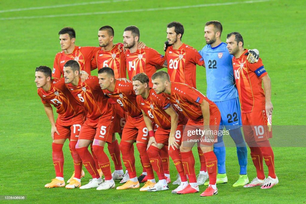 Georgia v North Macedonia - UEFA Nations League : News Photo